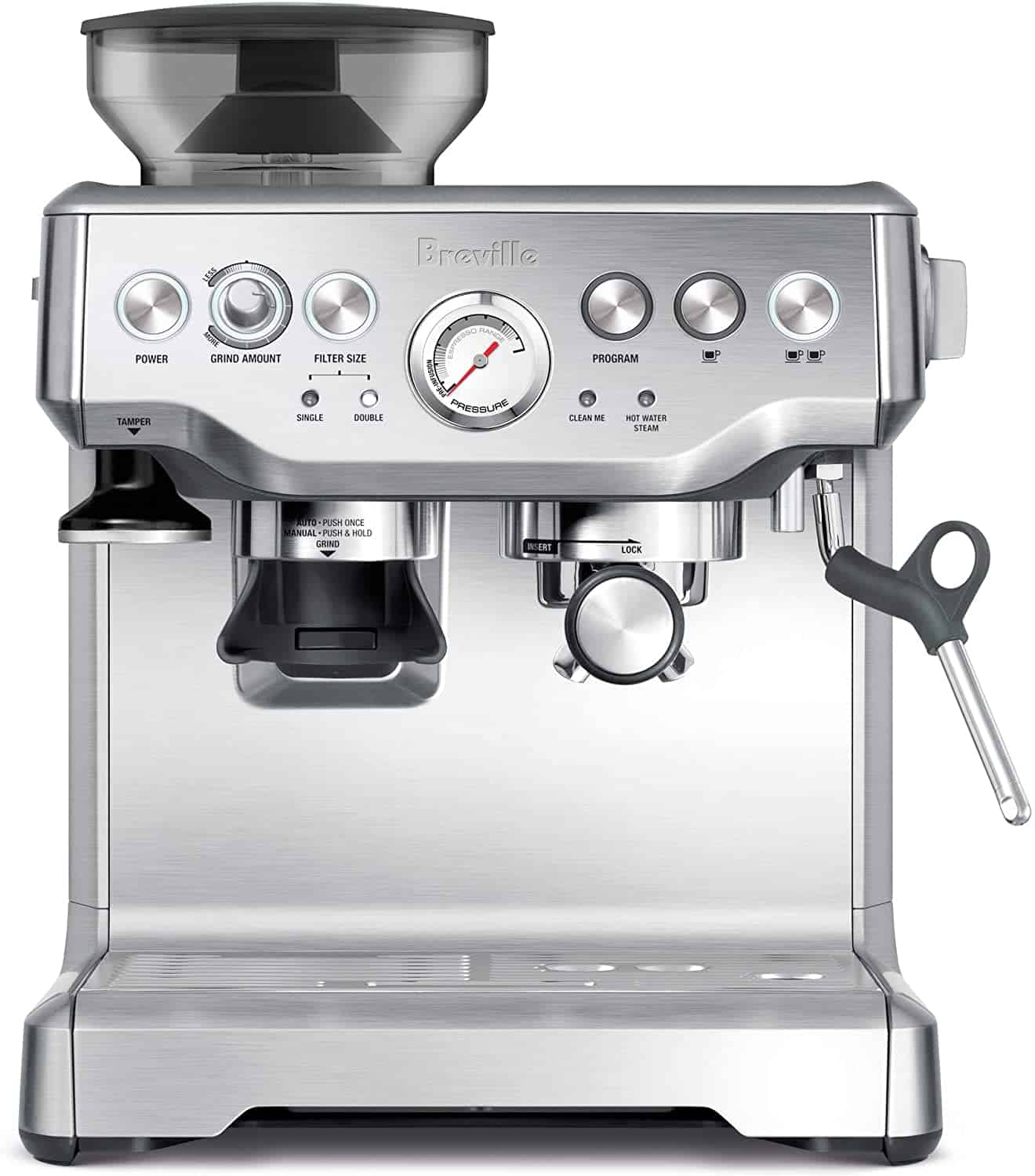 Breville Barista Express Bean to Cup Coffee Maker