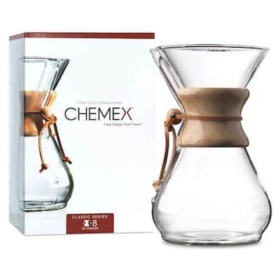 Chemex 8-Cup Pour Over Coffee Maker